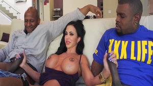 MILF Jewels Jade anal interracial