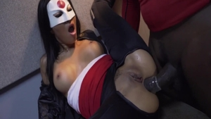 Super hot Asa Akira blowjob fucked in the ass
