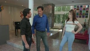 Nova Cane escorted by Remy Rayne caning in HD
