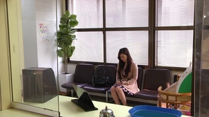 Raw bondage with too cute asian doctor Maria Ono in clinic HD