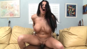 Hard nailining with busty girl Lylith Lavey