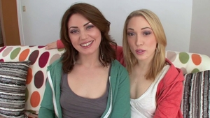 Lily Labeau in the company of Sarah Shevon threesome