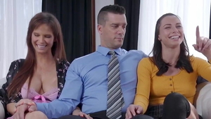 Bisexual Aidra Fox together with Ramon Nomar humiliation