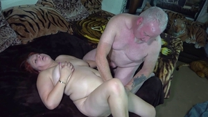 Plowing hard escorted by shaved amateur