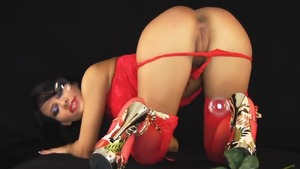 18 yr old bends to get fucked in lingerie 3d