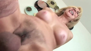 Loud sex together with hairy pussy furry Erica Lauren