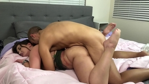 Doggy sex together with big ass brunette Gia Paige