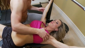 Muscle queen Brandi Love wishes nailing in HD