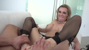 Hard hardcore sex escorted by large tits MILF Kendra Lust