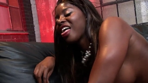 Hard sex accompanied by very hawt ebony amateur Jasmine Black