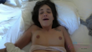 Creampied in hotel with brunette Gia Paige