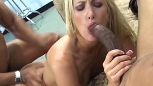 POV fingering together with blonde haired Angel Long