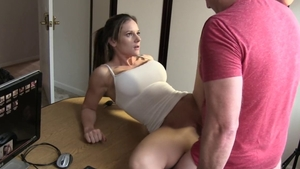 MILF Mandy Flores pussy fucking