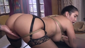 Tied up escorted by star Karlee Grey