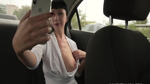 Very hot Naughty Lada really enjoys hard pounding