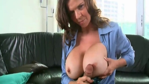 June Summers in experience crazy cum in mouth