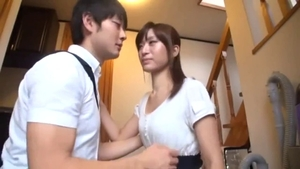 Fingering with young asian couple
