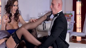 Sex together with lustful Eve Smile Tina Kay