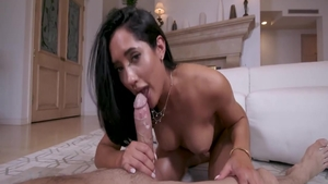 Big butt latina babe Chloe Amour rough pussy eating HD