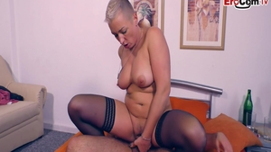Short hair german hooker desires hard slamming