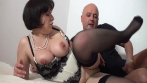 Chubby perfect french babe crazy ass fucked