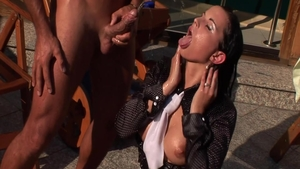 Hottest babe fetish pissing outdoors
