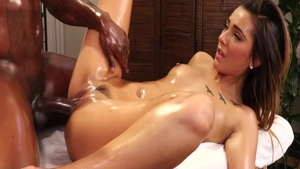 Young Jaye Summers goes for plowing hard