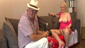 Busty blonde haired goes in for fucking hard