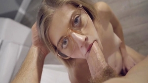 Very sexy babe Alyce Anderson POV blowjobs in HD