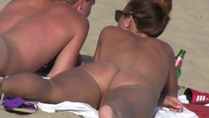 Gets a good fucking outdoors escorted by huge boobs brunette