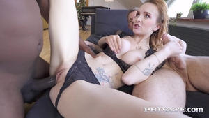 Inked extreme ass fucking threesome HD