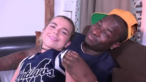 Alina West interracial sex after interview