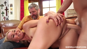 Blonde hair Aliyah Love handjob XXX video in HD