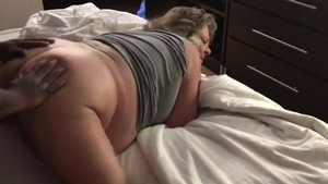 Pussy fucking in the company of perfect BBW