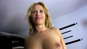 Inked large tits stepmom extreme threesome outdoors