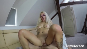 Inked Vanessa Sweet getting smashed very nicely