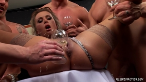 Fetish ramming hard in the company of blonde haired