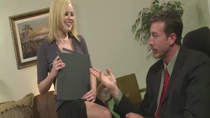 Rough german seduced in office
