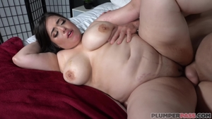 Sex in the company of big tits MILF
