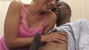 Very tasty amateur first time interracial pounding