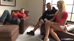 Hardcore sex escorted by big boobs model Amy Brooke