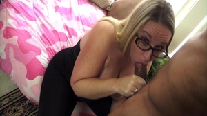 Young hot babe crazy dick sucking