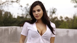 Tattooed schoolgirl latina Keisha Grey interracial bang