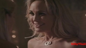 'SillyThots.com - Two filthy blond MILFs Bring Each Other To agonorgasmos'