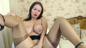 Brunette needs nailing in lingerie in HD