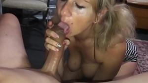 Perfect girlfriend feels up to hard pounding
