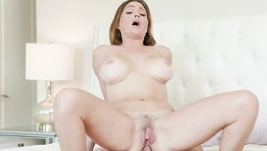 Hairy Krissy Lyn stepmom handjob sex video