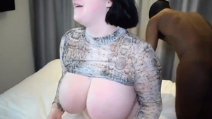 Arabic BBW Harmony Reigns ass fuck