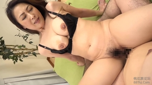 Big boobs japanese brunette really likes sloppy fucking HD