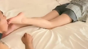 Foot fetish chinese HD